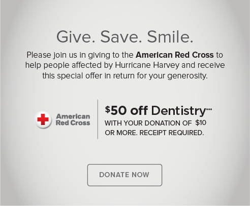 Fountain Modern Dentistry and Orthodontics - Donate Red Cross® Hurricane Harvey